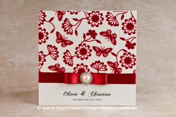 Royal Pearl Wedding Invitation – Royal Pearl
