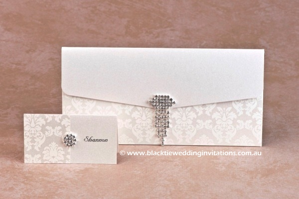 Ivory Grace Wedding Invitation