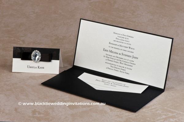 Secret Garden - Black Tie Wedding Invitations BlogBlack Tie ...