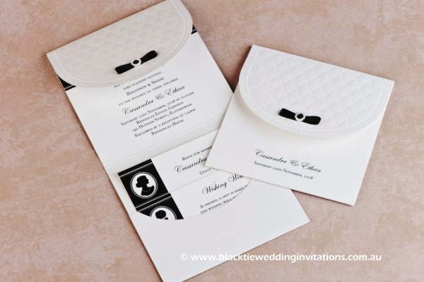 wedding invitation - cameo appearance