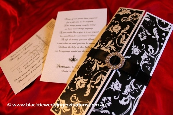 Wedding Invitation - Bella Gothic