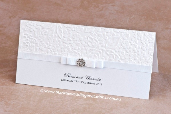 wedding invitation dove