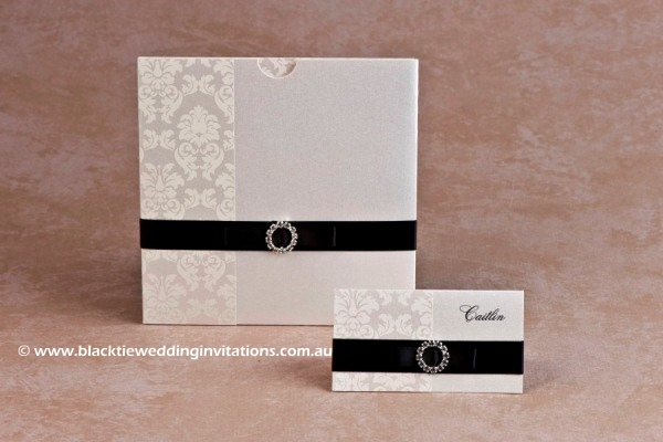duchess - invitation and place card