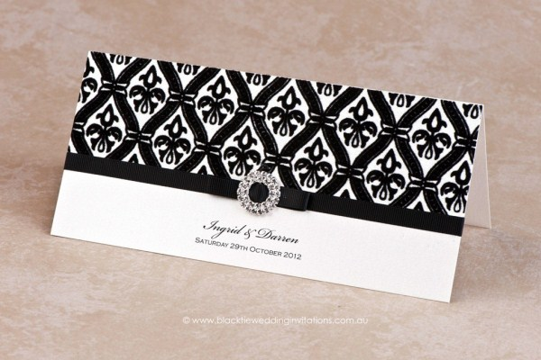 wedding invitation prince charming