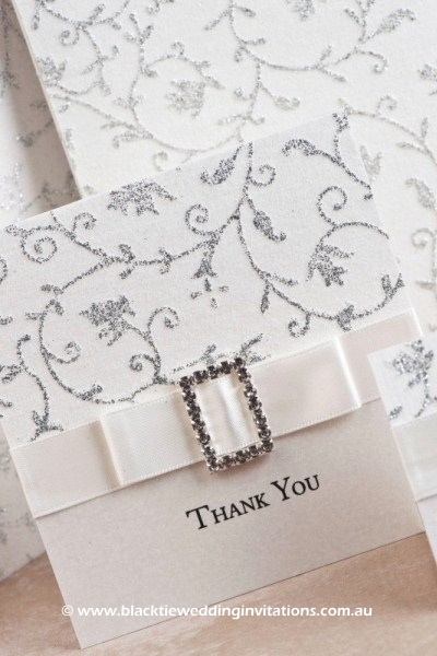 glamour - thank you card details