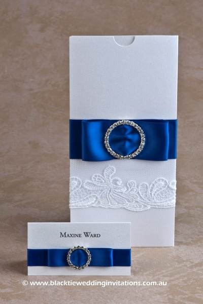 goddess - place card and invitation