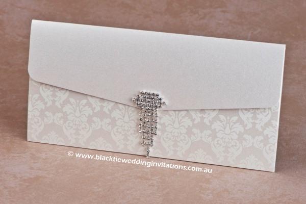 Wedding Invitation - Ivory Grace