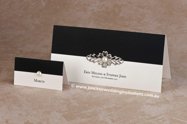 juliet - place card and invitation