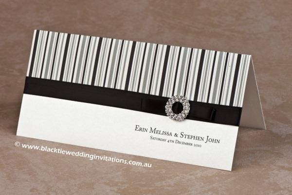 licorice stripe - invitation