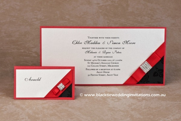Wedding Invitation - Mystery