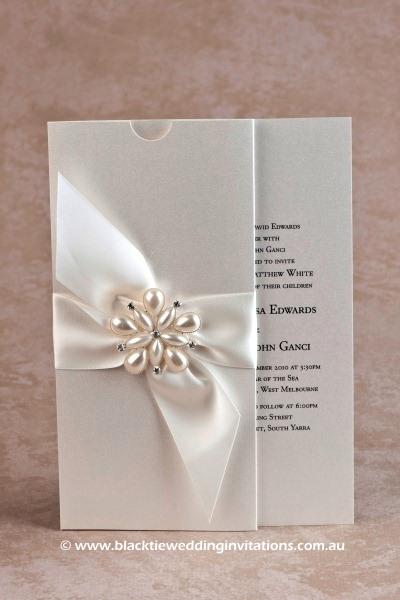 Wedding Invitation - Ocean Pearl