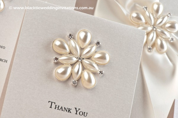 ocean pearl - thank you card details