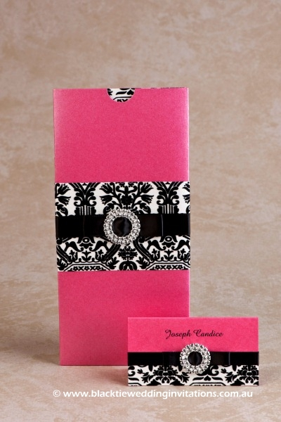 wedding invitation - palatial