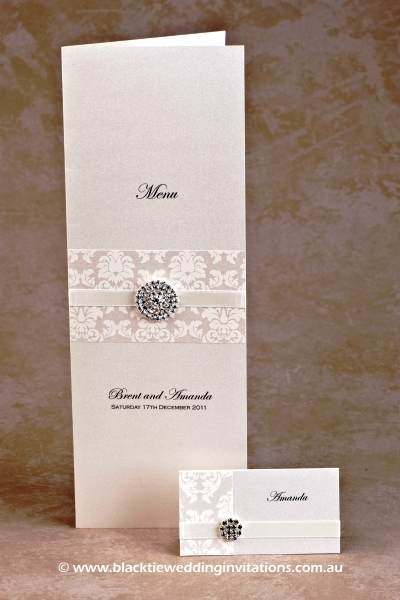 phoenix - menu and place card