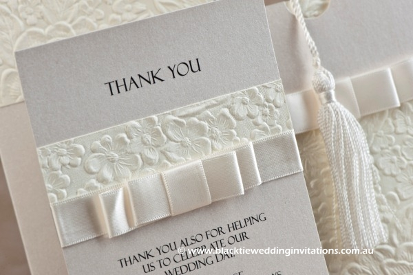 pure - thank you card details