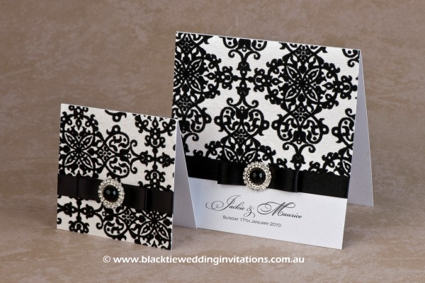 royal belle - thank you card and invitation