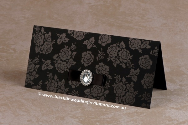 Wedding Invitation - Secret Garden