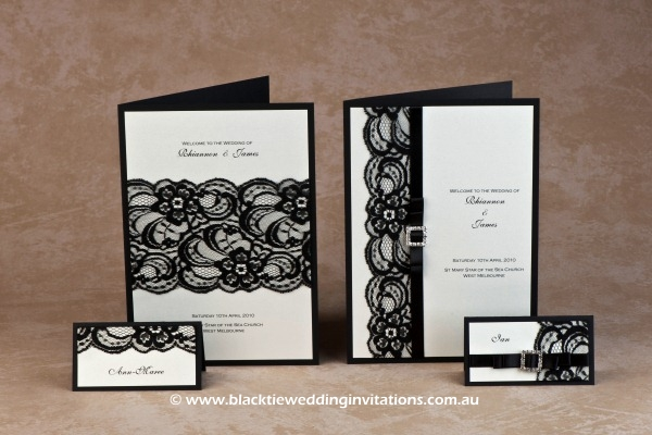 shimmer - place cards and service booklet covers