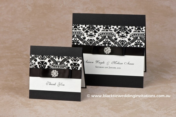 Wedding Invitation - Symphony