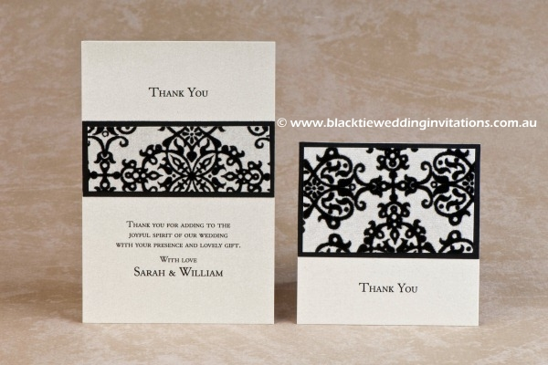 tapestry - thank you cards