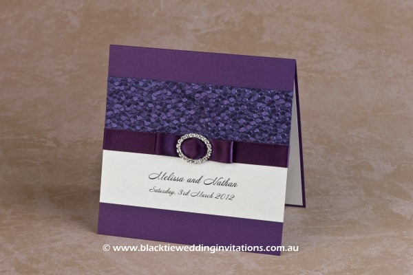 Wedding Invitation – Violetta