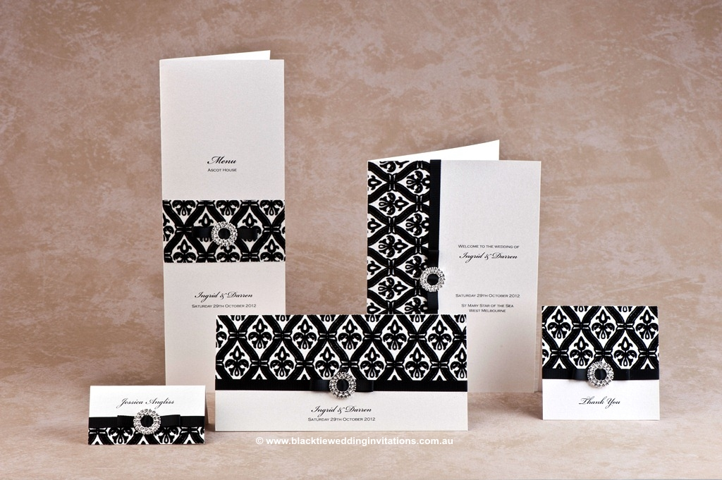 wedding stationery design - prince charming