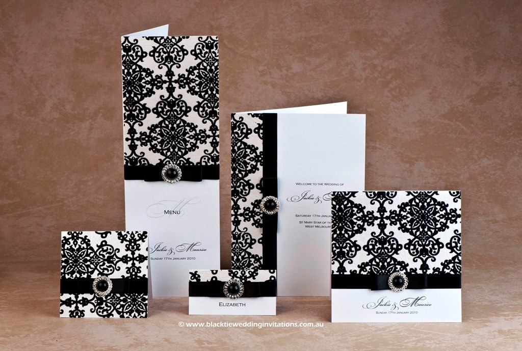 wedding stationery design - royal belle