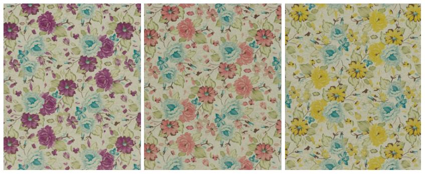 delicate bloom colour palettes