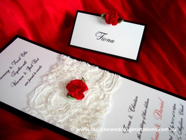 wedding invitation allure