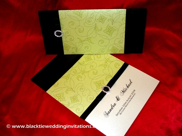wedding invitation lime delicious