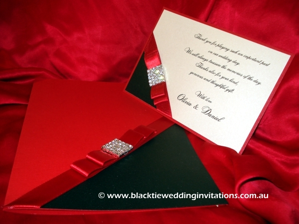 wedding invitation majestic
