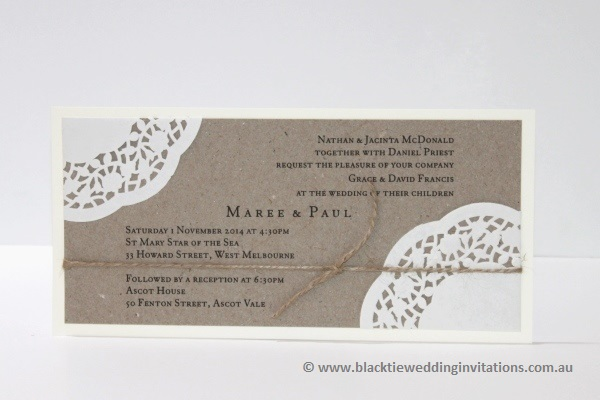 wedding invitation sentimental