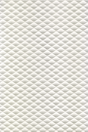 Embossed Diamonds Matte White