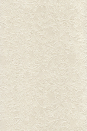 Embossed Metallic Cream Botanica