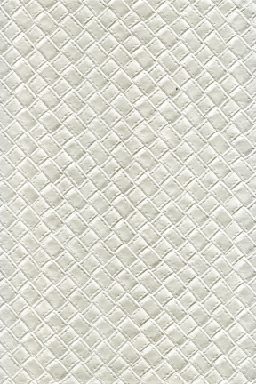 Ivory Embossed Leatherette