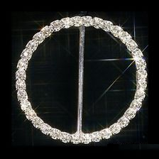 Large round buckle